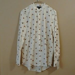 NWT Victoria Beckham for Target Bee Blouse